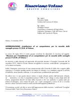 Interrogazione compattatore CRM del 05.11.2014