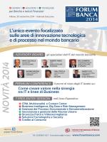 scheda iscrizione Premium Conference Forum Banca _Assintel