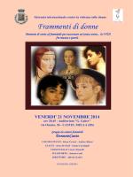 frammenti di donne – presentazione
