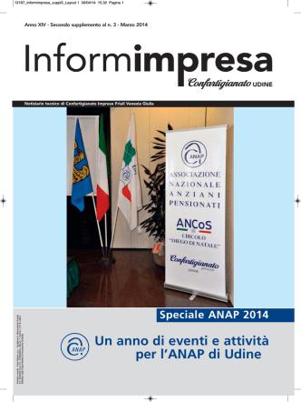 ANAP - Speciale 2014 [] - Confartigianato Udine