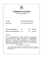 COMUNE DI LACONI