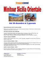 Minitour Sicilia Orientale