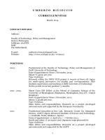 umbertorivieccio curriculum vitae - Applied Logic TUDelft | Delft