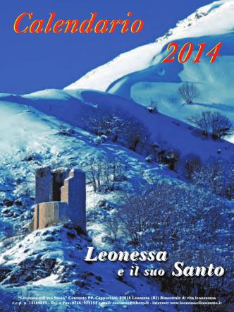 Calendario 2014 (3,14 Mb) - Leonessa e il Suo Santo