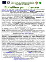 Bollettino 1 e 2 dal 16 al 31 Dicembre