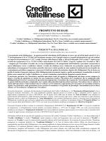 Prospetto - Gruppo bancario Credito Valtellinese