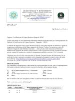 Certificazione di Spagnolo DELE