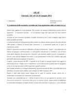 evoluzione della normativa italiana