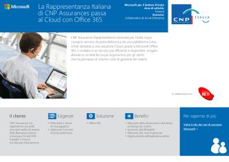CNP Assurance passa al cloud con office 365