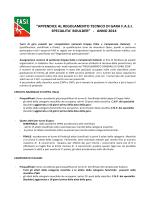 appendice regolamento boulder FASI 2014