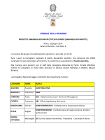 Riunione 18 giugno 2014 - Ministero del Lavoro e delle Politiche