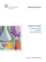 People First. Il capitale sociale e umano: la forza del Paese