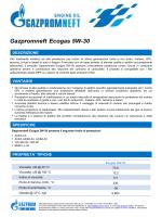 Gazpromneft Ecogas 5W-30 - Gazpromneft Lubricants Italia SpA