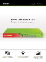 Endian UTM Macro X Series