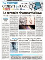 la ceramica rinasce a vita nova - Comprensivo Santo Stefano Magra