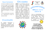 Brochure Mini cre Sovere 2014