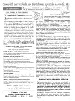 28 Settembre - San Bartolomeo
