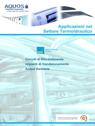 Applicazioni nel Settore Termoidraulico
