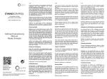 Gebrauchsanleitung für AquaVendi CyanoControl