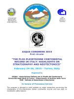 prima circolare Congresso AIQUA Torino 2015