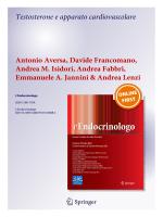 Testosterone e apparato cardiovascolare Antonio