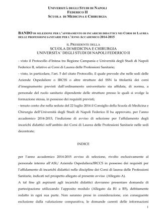 AO Santobono-Pausilipon - Università degli Studi di Napoli Federico II