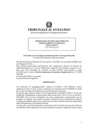 accoglimento - Studio Legale Canestrini