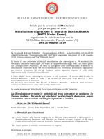 bando NATO 2014 - Lauree e Lauree Magistrali