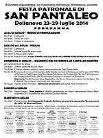 San Pantaleo 2014.pmd - Comune di Dolianova