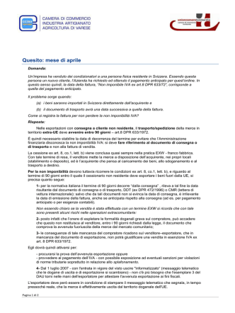 Aprile 2014 - Varesexport