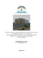 Bando di Gara - ARPA Puglia