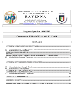 C.U. N. 18... - FIGC Ravenna