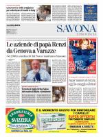 Le aziende di papà Renzi da Genova a Varazze