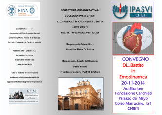 CONVEGNO Di…Battito In Emodinamica 20-11-2014