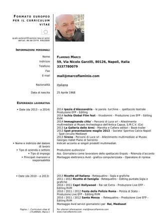 59, Via Nicolo Garzilli, 80126, Napoli, Italia 3337780079 mail