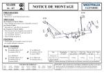 NOTICE DE MONTAGE - Patrick Remorques