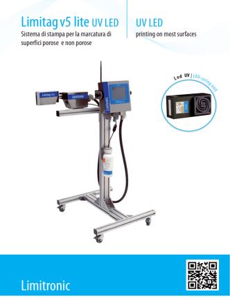 Brochure Limitag V5 UV LED