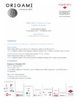 Programma, Workshop e Conferenze