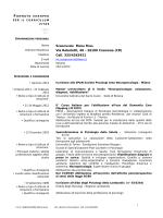 CV formato europeo - Ordine degli Psicologi della Lombardia