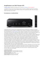 Amplificatore con DAC Pioneer A70 - Hi