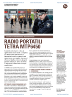 RADIO PORTATILI TETRA MTP6450