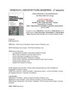 Programma_completo Venezia Architettura 2014
