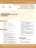 XXI Congresso Nazionale - European Pragmatism Association