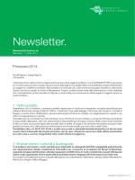 Newsletter 2014 - Ente Turistico del Mendrisiotto e Basso Ceresio