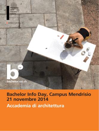 Bachelor Info Day-mendrisio