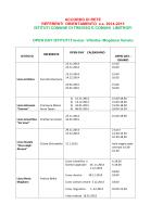 open day 2014-2015-scuole superiori
