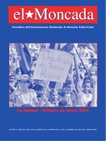La Habana - Primero de mayo 2014 - Associazione di amicizia Italia