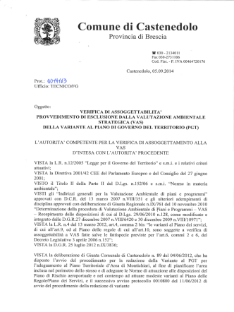 2333 Kb / tipo:  - Comune di Castenedolo