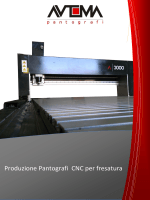 Produzione Pantografi CNC per fresatura