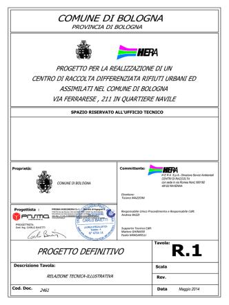 2461-All.R.1 Relazione tecnica -revHera2maggio 2014